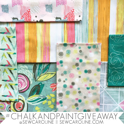 Sew Caroline Chalk and Paint Blog Tour.