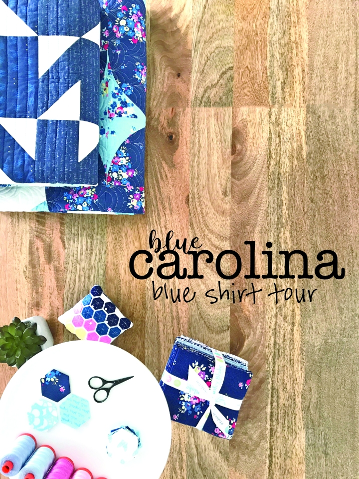 Blue Shirt Blog Tour-Blue Carolina